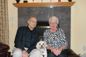 Bill, Cosmo and Ann
