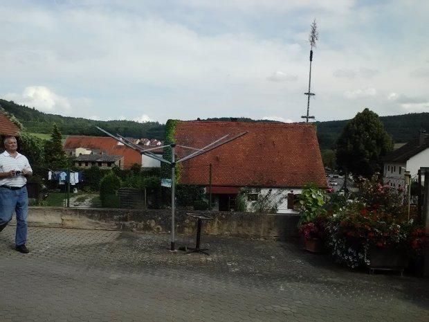 Obermässing, Bavaria (with Maypole)
